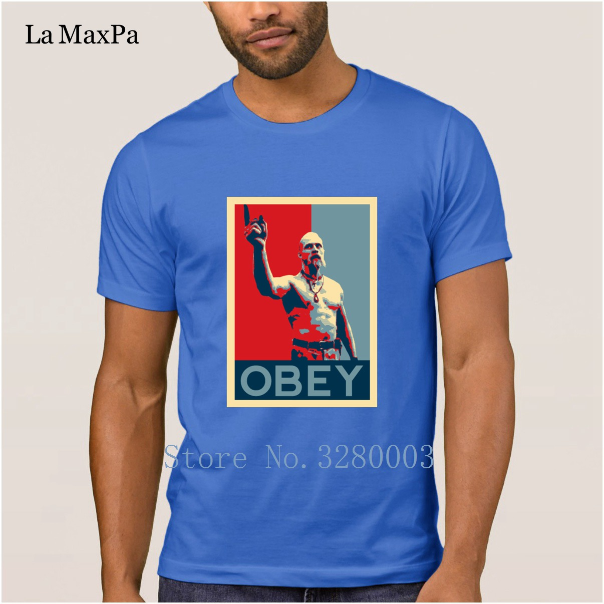 Image 5 - La Maxpa create Funny Casual men t shirt techno viking t shirt Spring Autumn Pictures tee shirt for men round Neck Fitness-in T-Shirts from Men's Clothing