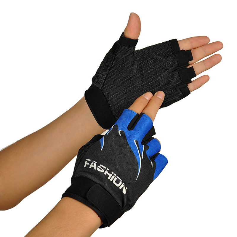 High Quality Outdoor Sports Bicycle Cycling Hiking Gel Half Finger Fingerless Comfortable Gloves Bike Equipment 4 Colors M20