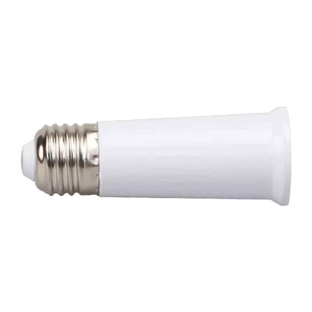 LumiParty E27 65mm Light Bulb Extend Socket Base Lamp Holder Converter Light Bulb Cap Conversion Adapter