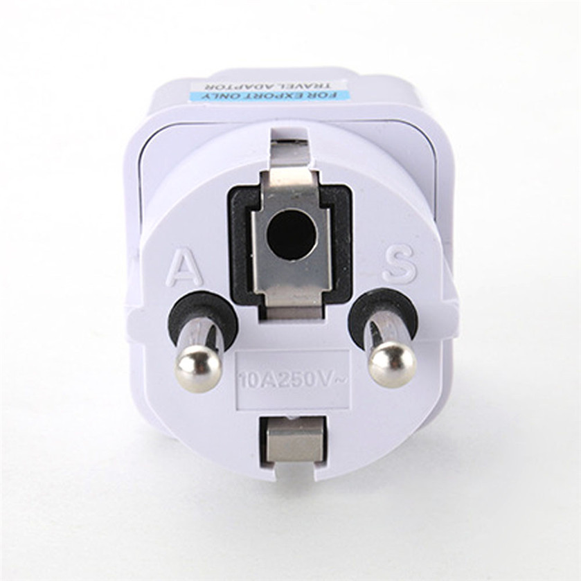 Best Price Binmer Universal UK US AU to EU AC Power Plug universal Travel Charger Adapter Outlet Converter 0.78