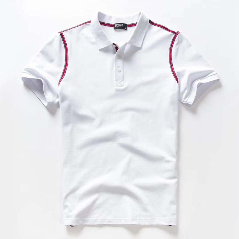 Vomint 2019 Summer New Mens Cotton   Polo   shirts Short Sleeve Solid Color shirts for Male BP5906