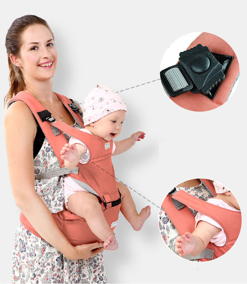 Breathable Portable Kangaroos Baby Backpack And Ergonomics Baby Carrier For 1-36M Babies