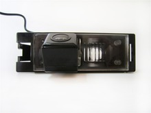 Envío gratis! SONY CCD Chip posterior del coche especial espejo retrovisor de imagen con línea guía de la cámara para Hyundai IX35 / I35 Tucson 2011