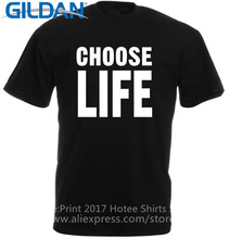 Printed T Shirts  MenS Best Friend O-Neck Choose Life Trainspotting Inspired Office Short Sleeve