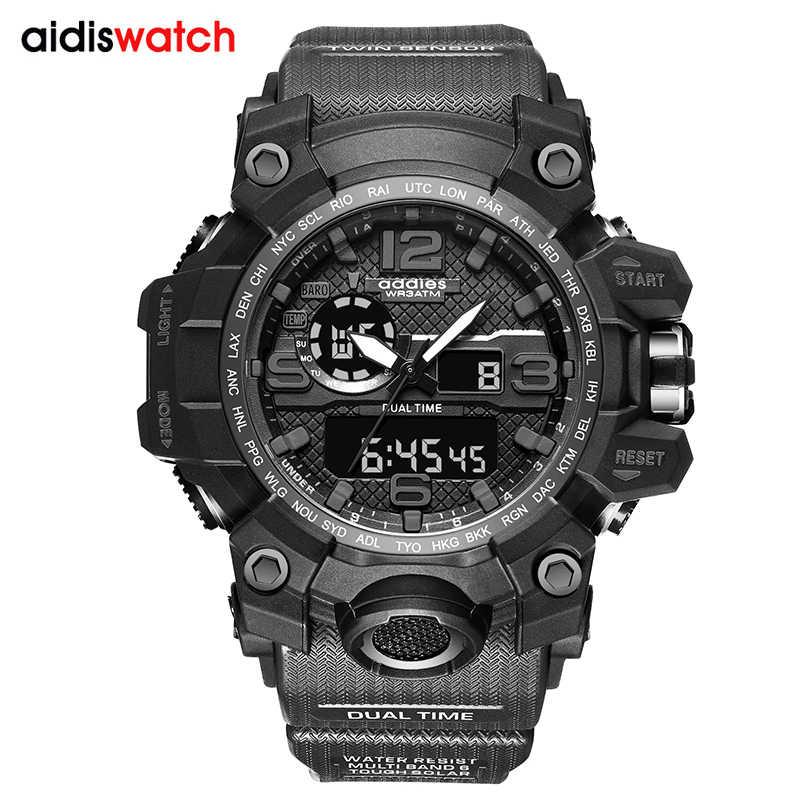 G стиль шок часы для мужчин военная армия мужские s часы Reloj светодиодные цифровые спортивные наручные часы мужской подарок аналоговые автоматические часы для мужчин