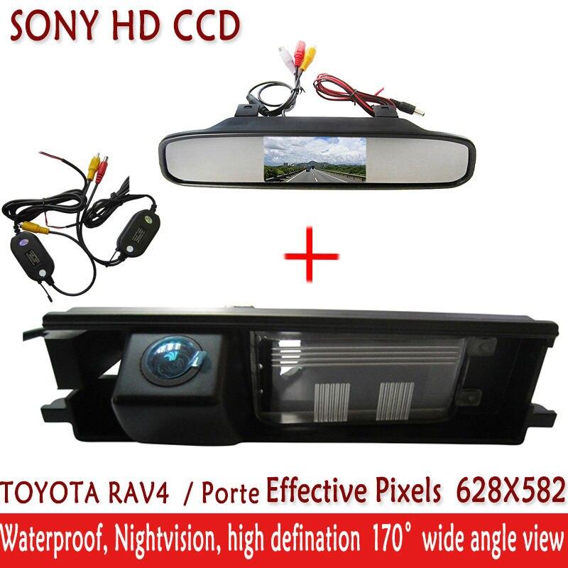 •Беспроводной Sony CCD Автомобильная камера парковка с 4.3 ...