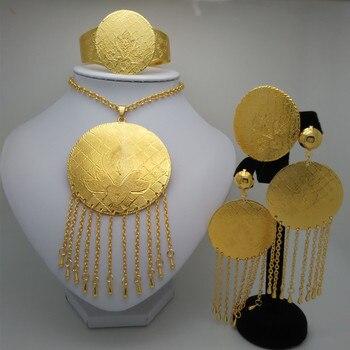dfc0c5e01937 Reino Unido Ma superior Dubai de grandes conjuntos de joyas de boda de  Nigeria África Etiopía