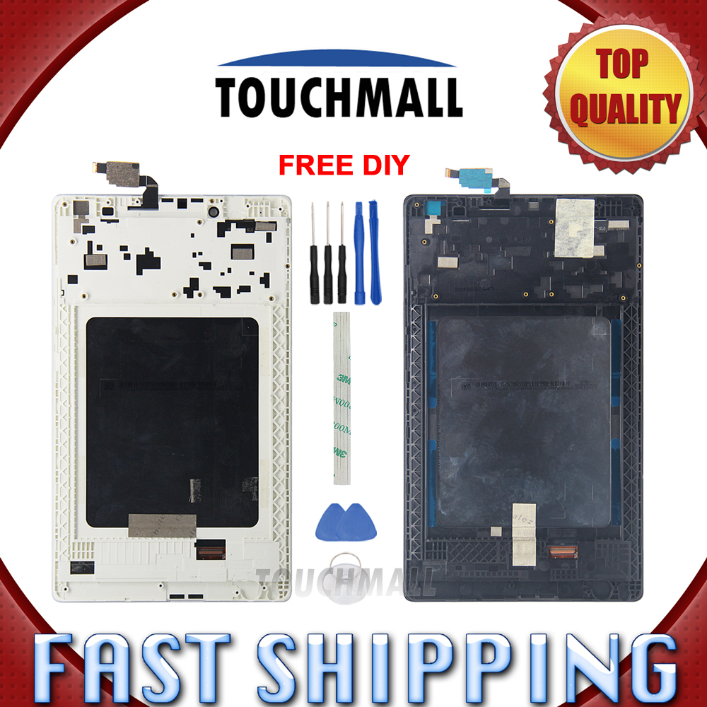 Friendly New Lcd Display Touch Screen With Frame Assembly Replacement For Lenovo Tab 2 A8-50 A8-50f A8-50lc 8-inch Black White Tools Great Varieties