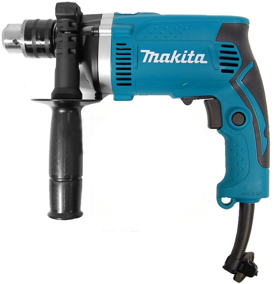 Makita HP1630 W710 16MM (5/8 ) Impact Drill Household electric power tools tasp 5 pairs carbon brushes 6 5 13 5 16mm for makita electric motors cb153 cb 153