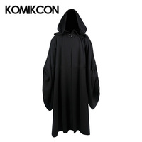 Emperor Palpatine Cosplay Darth Sidious Robe Costume Black Cloak Halloween Tunic Uniform For Man Adults Christmas Gifts