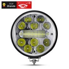 WINNING 45W 7 inch Round 12V Led Driving Work Light For 4×4 Offroad Truck Boat 4WD SUV ATV CAR 12V 24V External Lights