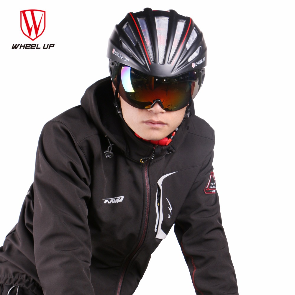 WHEEL UP New a Bike Accessories Integrally Aerodynamic Road Cycling EPS MTB Helmet Mountain Bike Helmet MTB Bicycle Helmet Lens wheel up integrally aerodynamic eps lens cycling helmet ultra light mountain bike helmet mtb bicycle helmet byclcle accessories