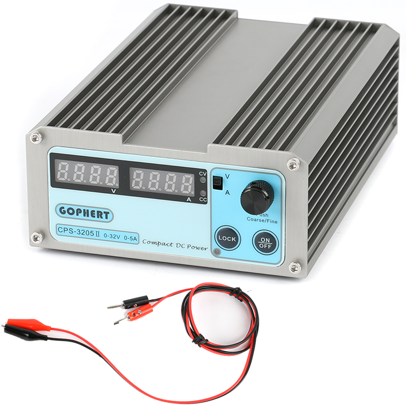 Mini 0-30V-32V Adjustable DC Switching Power Supply 30V 5A 160W SMPS Switchable AC 110V/220V input CPS-3205/CPS-3205II/CPS3205 цена и фото