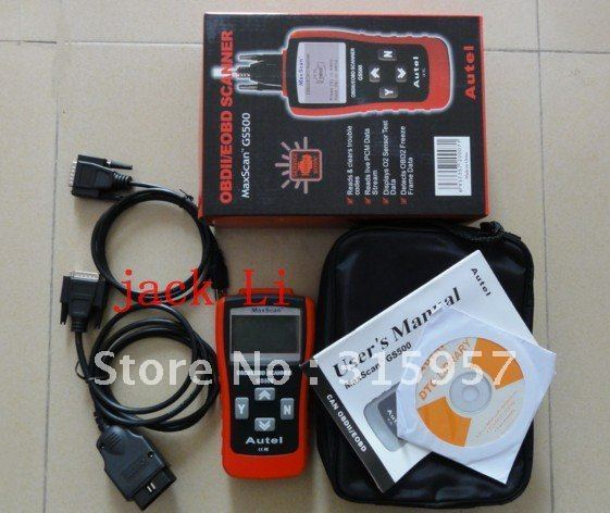 mb GS 500 auto scanner