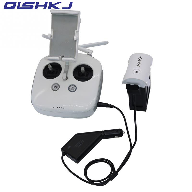 New Arrival 2 in 1 Car Charger Battery Remote Control Charging 26 1V 4A 105W For