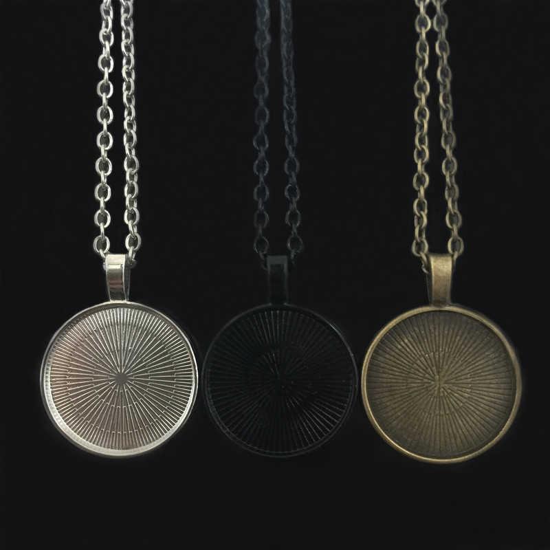 WUSQWSC красивые цветы стимпанк колье часы стеклянная подвеска с кабошоном ожерелья ювелирные изделия