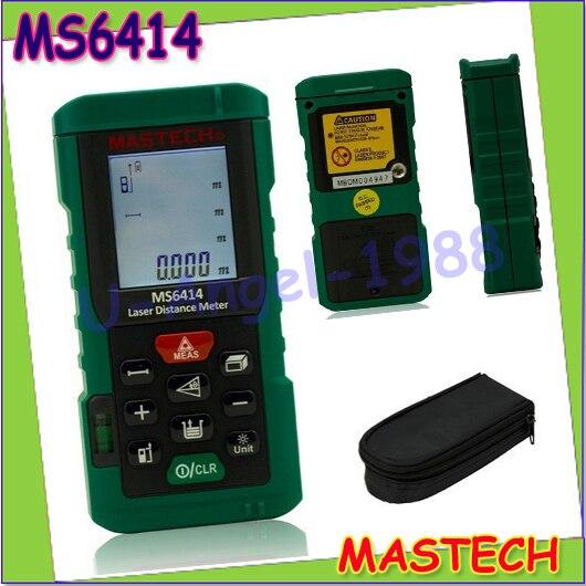 ФОТО Wholesale 1pcs MASTECH MS6414 40M Laser Distance Meter Electronic Ruler Laser Ruler Laser Line Distance Measuring Instrument