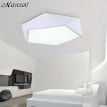 Светодиодные потолочные светильники домашнего освещения освещение спальни лампа современный светлый Цвет поляризатор luminaria лампы ребенок светильник лампе деко