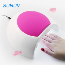 SUNUV SUN2 UV Nail Lamp 48w LED Dryer Nail Lampe for Curing LED UV Gel Polish Fingernail Toenail