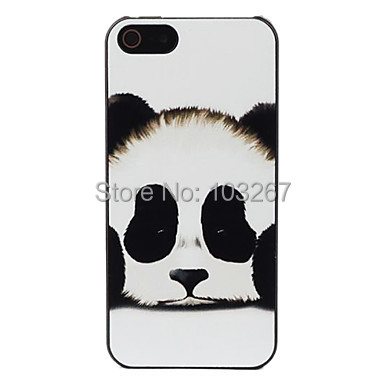 Panda Protective Hard Back Cover Case iPhone 5/5S 5C 4/4S 6 Plus - Shenzhen YHOEM Trading Co.,Ltd store