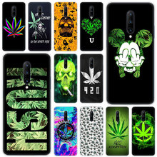 Hot Abstractionism Art high weed Luxury Soft Silicone Fashion Transparent Case For OnePlus 7 Pro 5G 6 6T 5 5T 3 3T TPU Cover