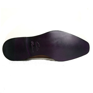 Image 5 - cie square captoe medallion double monk straps handmade leather men shoe100% genuine calf leather outsole breathable black MS46