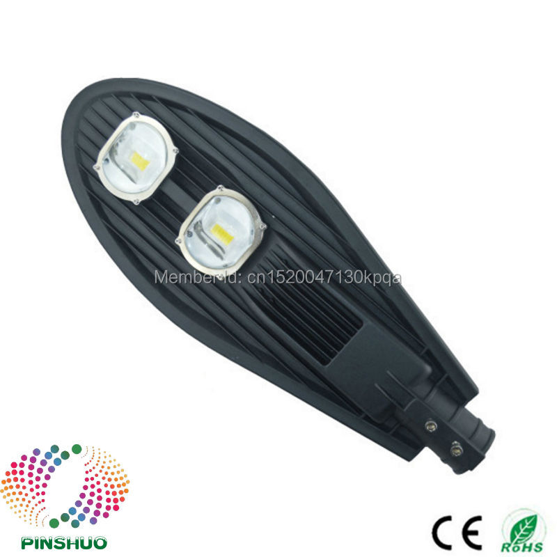 (4PCS/Lot) AC85-265V Warranty 3 Years Bridgelux Chip 100W LED Street Light Lamp Outdoor Industrial Garden Road Yard Lighting ac85 265v 100w led high bay light 100w led warehouse lamp cob bridgelux chip 1 100w led industrial lighting lamp