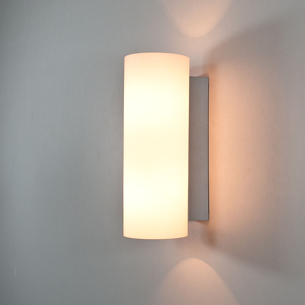 compare prices on tube wall sconce online shoppingbuy low price  - modern brief e led bulb scrub glass tube wall sconce lamps home decobedroom bedside iron wall light fixture acv