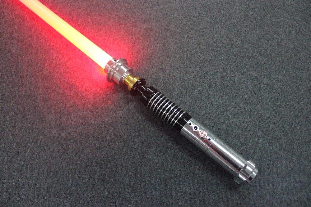 Nouveau son Luke Star série noire Skywalker sabre laser Jedi bleu Vader épée cinq de cadeau spécial troisième génération 100 cm