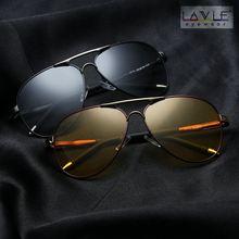 2019 Men Sunglasses Photochromic Polarized Grey Yellow Pilot Business Style Change Color Sun Glasses Women