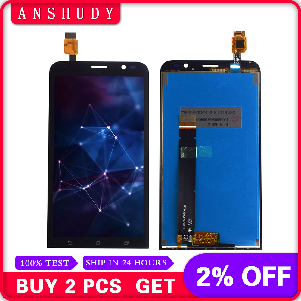 For Asus ZenFone Go TV ZB551KL X013D X013DA X01 LCD Display Panel Screen Module Monitor + Touch Screen Digitizer Sensor Assembly kožne rukavice bez prstiju