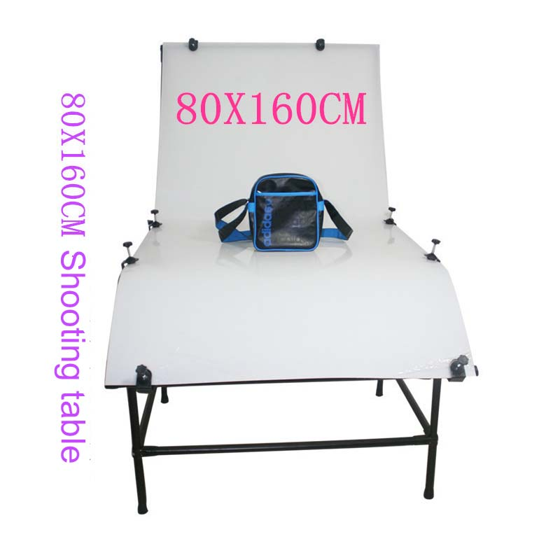 Small metal products 80x160cm shooting station still life table photography light still life with tornado
