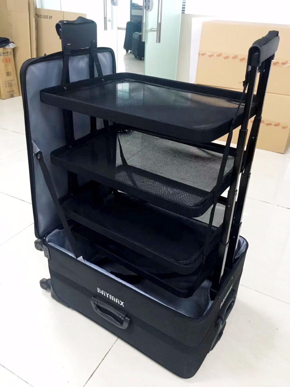 CARRYLOVE la série de bagages long voyage 26 pouces, valise de voyage étanche-in Bagages à roulettes from Baggages et sacs    2