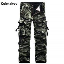 Free shipping 2017 new style pants men's casual fashion trousers , men's high quality jeans men cargo pants size 29-38