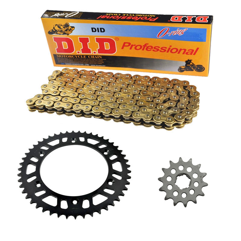 ONE PACKING MOTORCYCLE 520 CHAIN Front & Rear SPROCKET Kit Set FOR Yamaha YZ250 D/E/F/G/H/J/K/L/N/S/T/U/W/A/B колье цепь di hui b c d e f g h j k l m n p r s t w f268