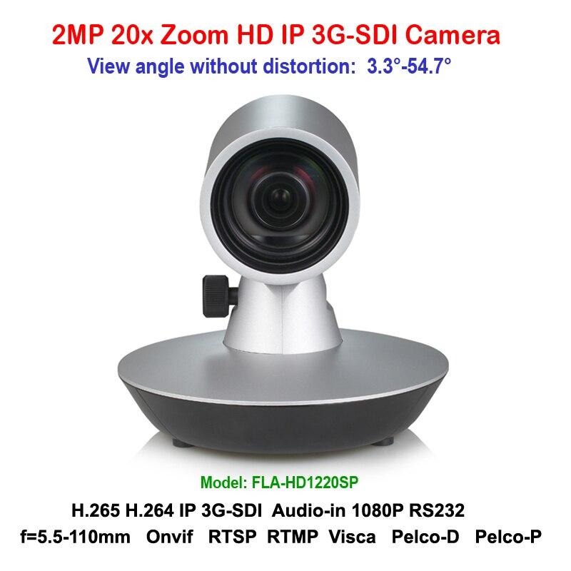 H.265 2mp 20x зум 3G SDI IP мини видеоконференции Камера Поддержка RTSP RTMP виски PELCO протоколы