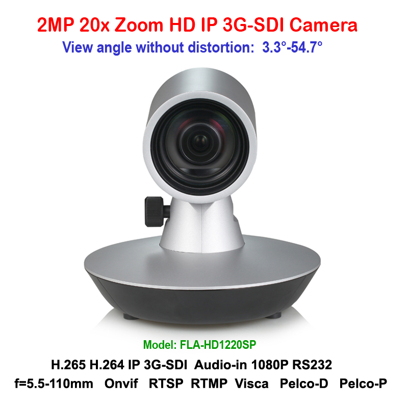 H.265 2mp 20x Zoom 3G-SDI IP Mini Video Conference Camera Support RTSP RTMP VISCA PELCO Protocols 2mp 1080p60 50 ptz ip streaming onvif poe camera visca pelco 20x optical zoom tripod with simultaneous hdmi and 3g sdi outputs
