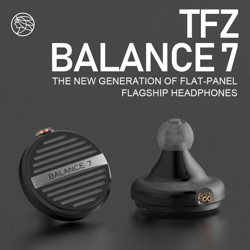 TFZ BALANCE 7 flat in ear earphones high fidelity audio monitor HIFI earphones with 2 pin