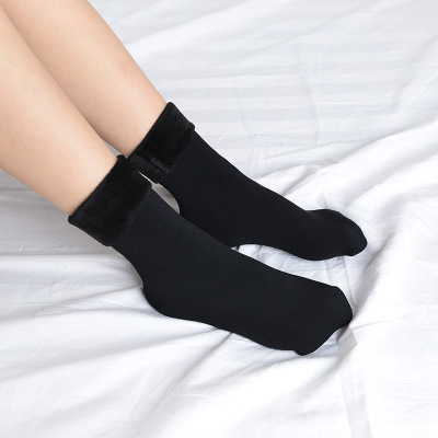Winter Warmer Thicken Thermal Wool Cashmere Snow Socks 4