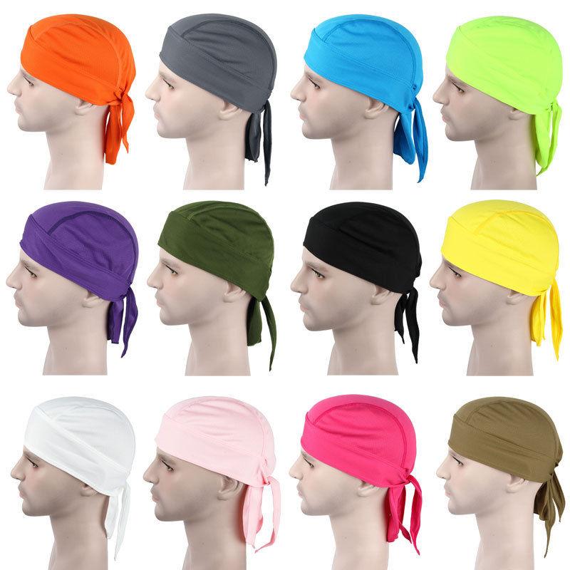 2016 New Fashion Men Womens Hat Du Rag Bandana Men Cycling Breathable Bandana Headband Du Doo Rags