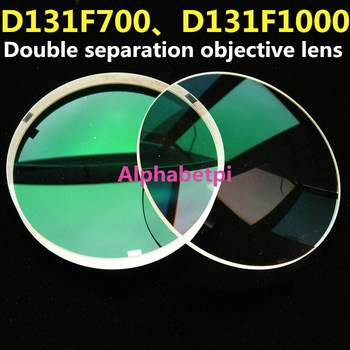 D131F700 D131F1000 Refraction Astronomical Telescope Objective Lens Multi-layer Broadband Antireflection Coating Dual Separation