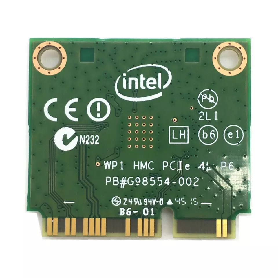 Image 4 - Dual Band Wireless AC For Intel 3160 3160HMW 802.11ac Wifi  + Bluetooth 4.0 Mini PCI e card 2.4G and 5Ghz 802.11a/b/g/n/AC-in Network Cards from Computer & Office