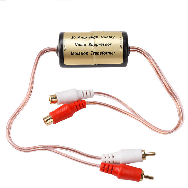 Ground loop isolator wiring electrical drawing wiring diagram new electric high quality noise suppressor filter install car audio rh aliexpress com ground loop isolator diagram ground loop isolator wiring diagram cheapraybanclubmaster Images