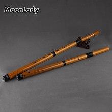 F/g chave de bambu vertical flauta 6 buracos marrom musical instreuments chinês artesanal woodwind instrumento fácil de aprender