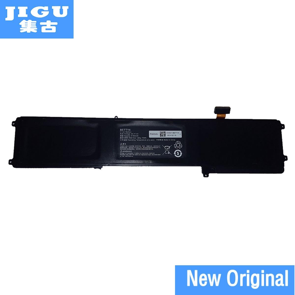 JIGU 11.4V 70WH 3ICP4/56/102-2 3ICP6/87/87/2 BETTY4 F1 Original Laptop Battery forRAZER For Blade 2016 14 RZ09-0166 01952E31 origianl clevo 6 87 n350s 4d7 6 87 n350s 4d8 n350bat 6 n350bat 9 laptop battery