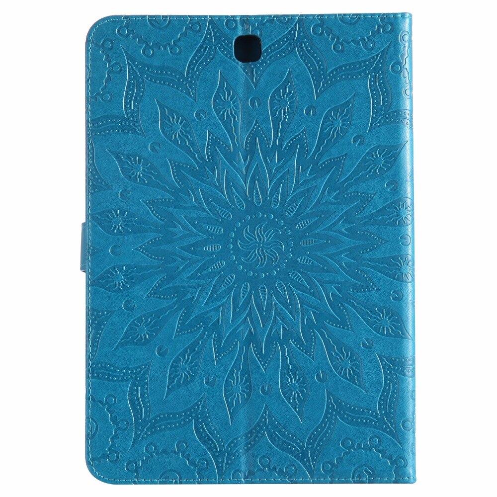 Tablet Couverture pour fundas Samsung Galaxy Tab Un 9.7 T550 Cas pour Samsung Galaxy Tab Un 9.7 T550 T551 T555 Cas Couverture + Carte titulaire