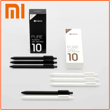 Unique Xiaomi KACO Signal Pens Sturdy 0.5mm Refill Signing Pens 10pcs/Pack Ballpoint pen Japan Black Ink college stationery