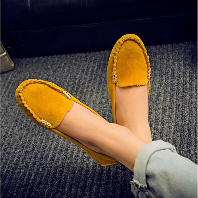 Spring Summer Women Flats Casual Shoes Women Solid Slip-On Loafers Comfortable Moccasins Shoes Flats Colorful Female Shoes eiswelt women flats shoes comfortable flat air mesh spring summer shoes female casual fashion slip on shoes for women flats