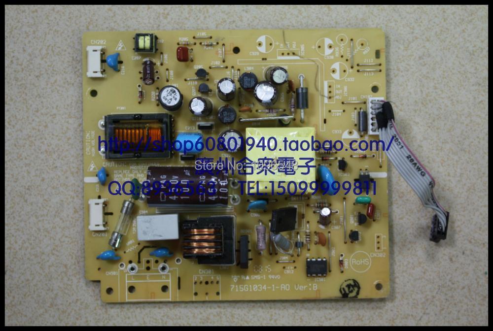Free Shipping>Original 100% Tested Working TGJ-5L61C Inverter Board 715G1034-1-A0 Ver:B Power Board free shipping original mulitsync lcd1760v t15i008 00 ambit inverter original 100% tested working