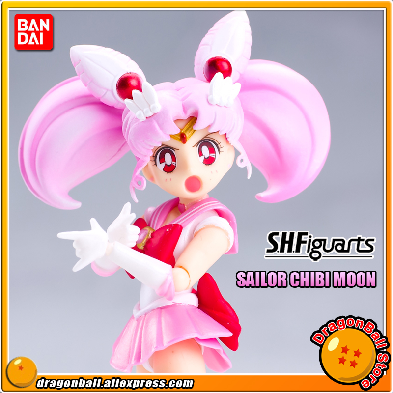 Pretty Guardian Sailor Moon Original BANDAI Tamashii Nations SHF/ S.H.Figuarts Action Figure - Sailor Chibi Moon футболка print bar minion sailor moon